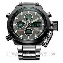 Мужские часы AMST с металлическим ремешком армейские АМСТ