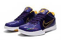 Мужские Баскетбольные кроссовки Nike Kobe 4 Pronto (Violet), фото 1