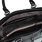 Женская Сумка Тоут из Искусственной Кожи Черная (5079), фото 6