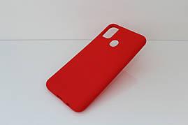Чехол Soft Touch для Samsung Galaxy M30s (M307) силикон бампер красный