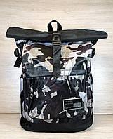 Стильный женский городской, спортивный рюкзак с водоотталкивающим покрытием