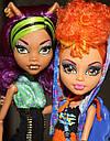 Набір ляльок Monster High Клодін і Хоулін Вульф Clawdeen Howleen Монстер Хай Школа монстрів, фото 2