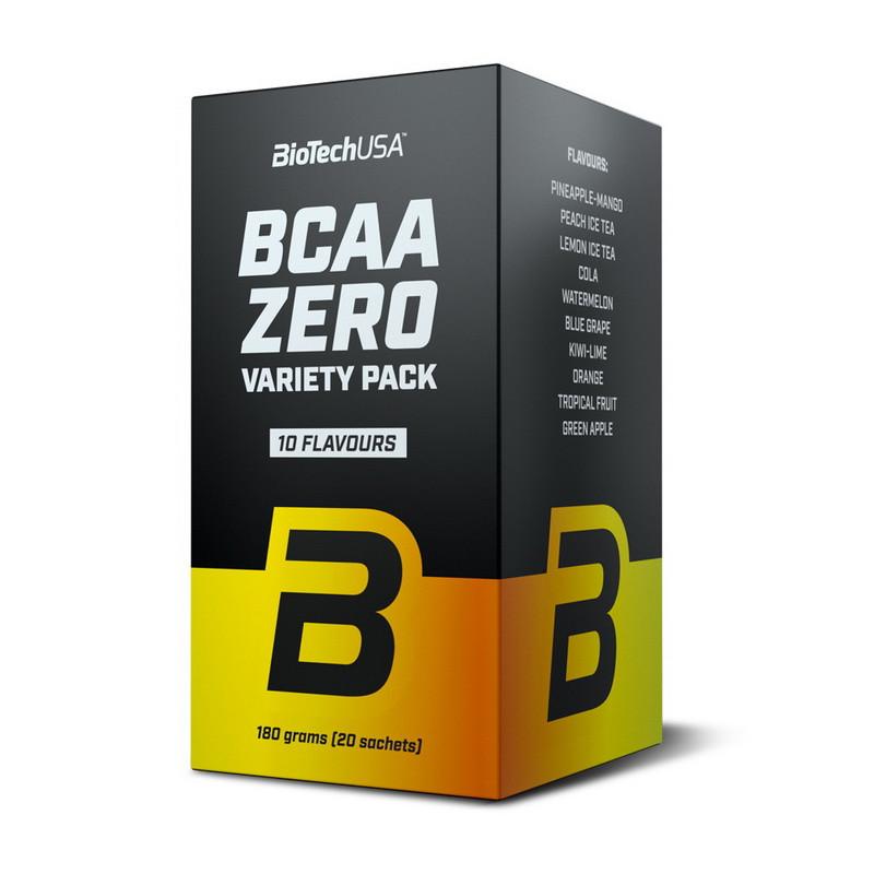 Аминокислота Бцаа BioTech Bcaa zero variety pack (20 sachets)