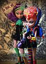 Набір ляльок Monster High Клодін і Хоулін Вульф Clawdeen Howleen Монстер Хай Школа монстрів, фото 6