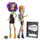 Набір ляльок Monster High Клодін і Хоулін Вульф Clawdeen Howleen Монстер Хай Школа монстрів, фото 8