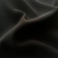 Костюмная ткань Барби, креп костюмка,Черный