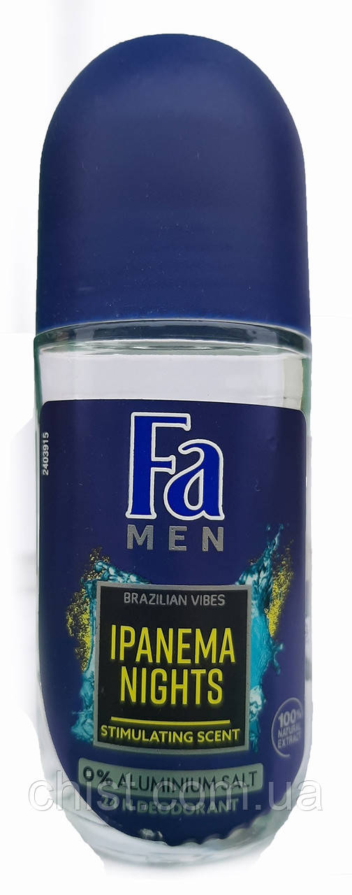 Fa дезодорант шариковый мужской (50мл)