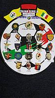 Набор значков Italian Serie A. 2010-2011г.