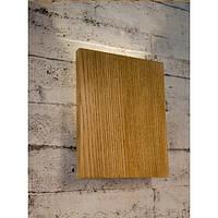 Деревянный настенный светильник Vela Board  (3 Вт)