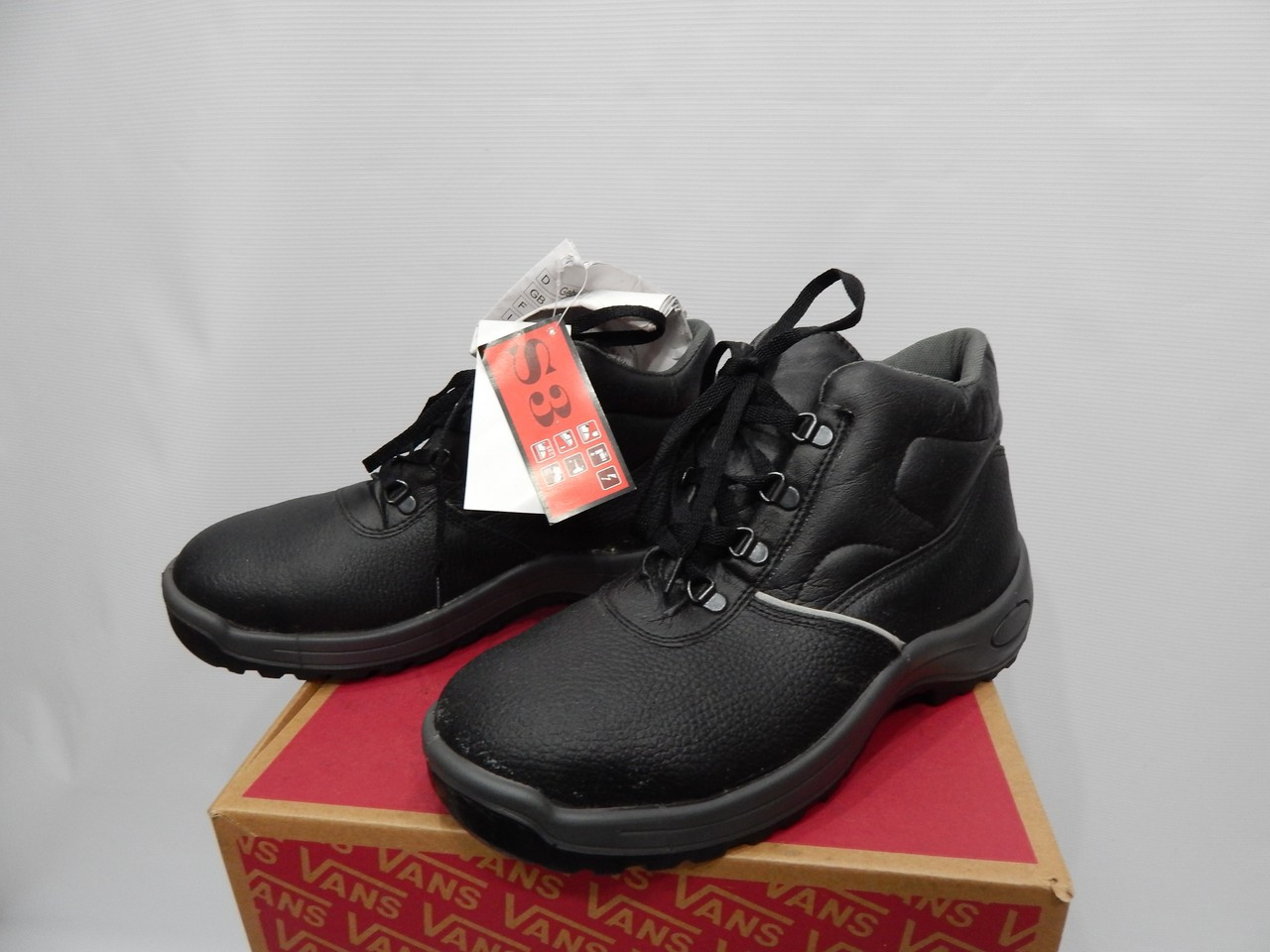 Мужские рабочие демисезонные ботинки Zoillax р.41 кожа 062BRM