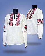 Женская сорочка узор выполнен хрестиком