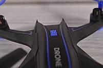 Квадрокоптер c WiFi камерой S6HW (Дальность действия: 100 метров, транслирующая на телефон, HD сьемка), фото 4