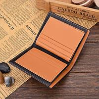 Чоловічий шкіряний гаманець. Чоловіче портмоне Модель В2, фото 7