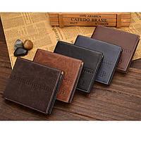 Чоловічий шкіряний гаманець. Чоловіче портмоне Модель В2, фото 3