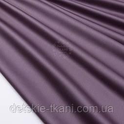 Сатин цвет фиолетовый с коричневым оттенком, ширина 240 см (№2551с)