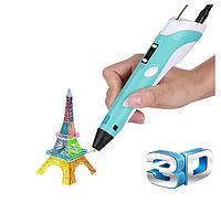 3D Ручка з LCD дісплеєм + Підставка + Пластик в комплекті, фото 1