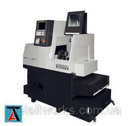 Токарный автомат швейцарского типа Tsugami с инструментом для торцевой обработки