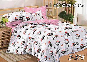 Комплект постельного белья Тет-А-Тет ( Украина ) Сатин евро (S-278)