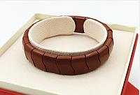 Турмалиновый браслет - турмалин, цвет коричневый. Браслет турмалиновый.