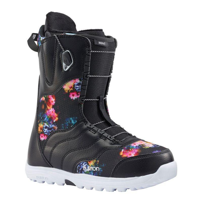 Ботінки жіночі сноубордичні Burton Mint black/multi розмір - EU 39 24,5 см US 7.5