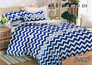 Комплект постельного белья Тет-А-Тет ( Украина ) Сатин евро (S-285)