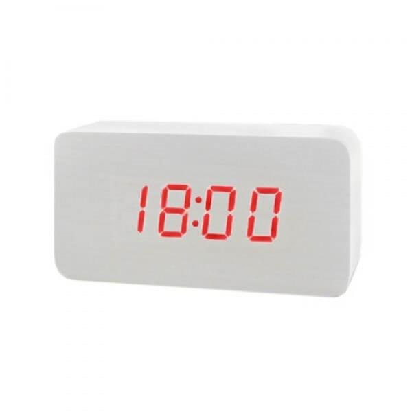 Електронні годинники в дерев'яному корпусі VST 863