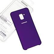 Силиконовый чехол на Samsung J6 Plus 2018 / J610 Soft-touch Violet