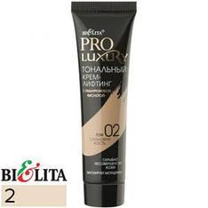 BIELITA Luxury Pro Тональный крем-лифтинг для лица Тон 2 слоновая кость 30ml