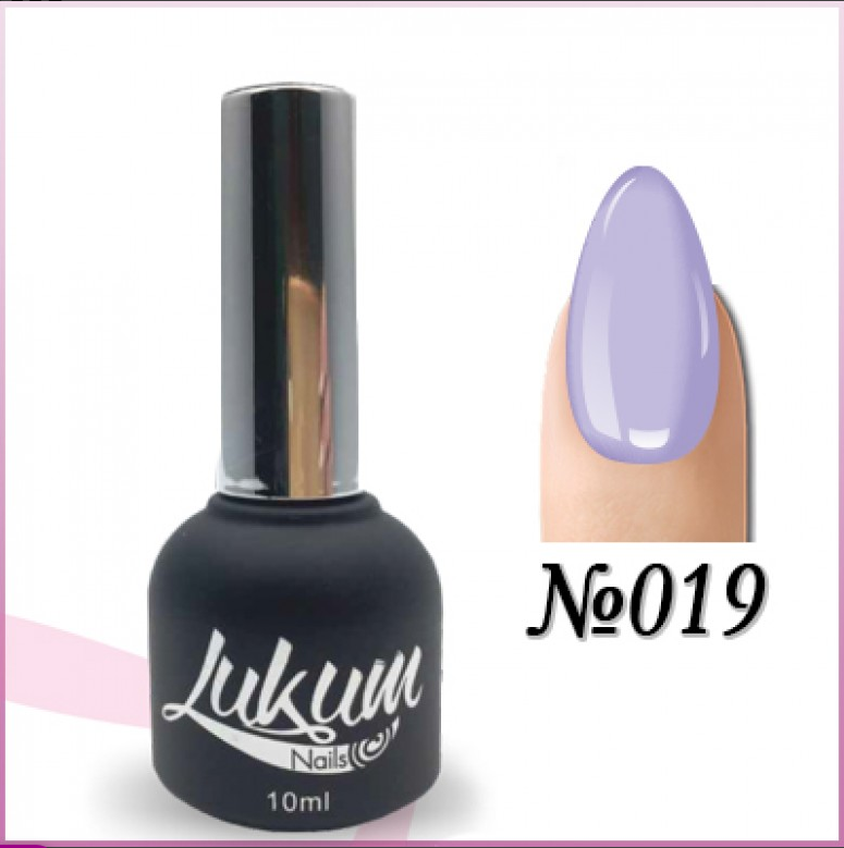 Гель лак Lukum Nails № 019
