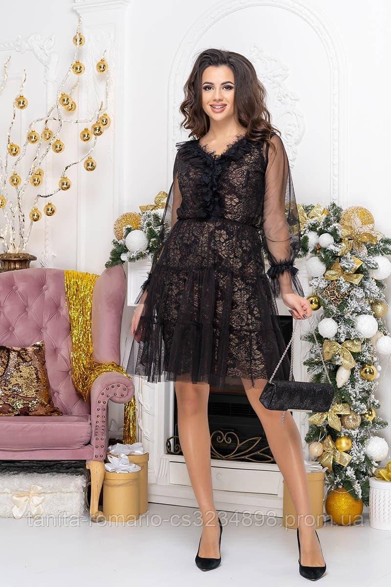 Коктейльне плаття Нанетта black