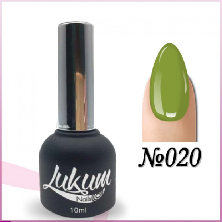 Гель лак Lukum Nails № 020