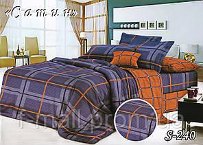 Комплект постельного белья Тет-А-Тет ( Украина ) Сатин евро (S-240)