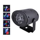 Лазер диско W665, 12LED, 220V