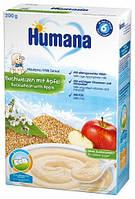 Humana Каша молочная гречневая с яблоком 6м+ 200г