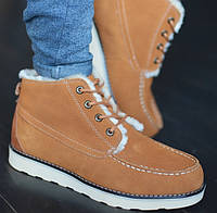 Мужские зимние ботинки UGG David Beckham рыжие 41-45р. Фото в живую. Люкс реплика