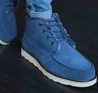 Мужские зимние ботинки UGG David Beckham синие 41-45р. Фото в живую. Реплика