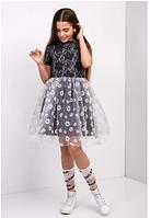 Подростковое платье  для девочки ромашка
