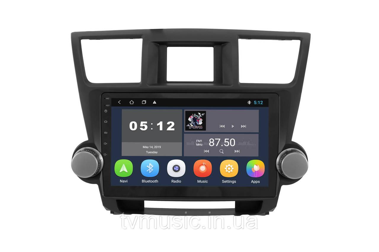 Штатная магнитола Sound Box SBM-8118 для Toyota Highlander 2007-2014