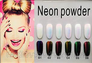 Втирка Єдиноріг Neon Powder, фото 2