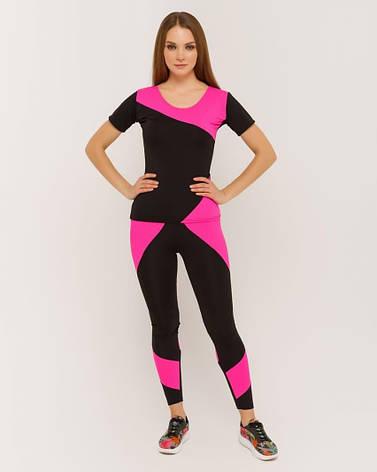 """Костюм для фитнеса """"TETRA Pink"""", фото 2"""