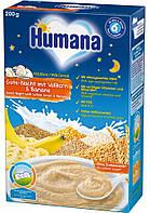 Humana Каша молочная Сладкие сны мультизлаковая с бананом 6м+ 200г