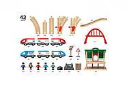 BRIO World НАБОР Двухуровневый с вокзалом 33512, фото 9