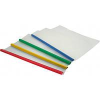 Папка с планкой-прижимом А4 10 мм 2-65 листа