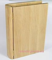 Шкатулка Книжка 25.5х19.5х6 см дерево заготовка для декора