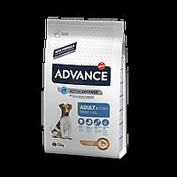 Сухой корм ADVANCE Mini Adult 7.5 кг -  для взрослых собак малых пород  с рисом и курицей