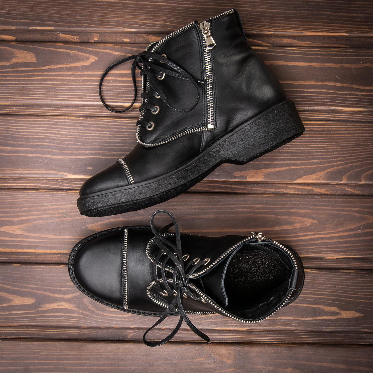 Ботинки женские на шнурках Tellus 06-07B