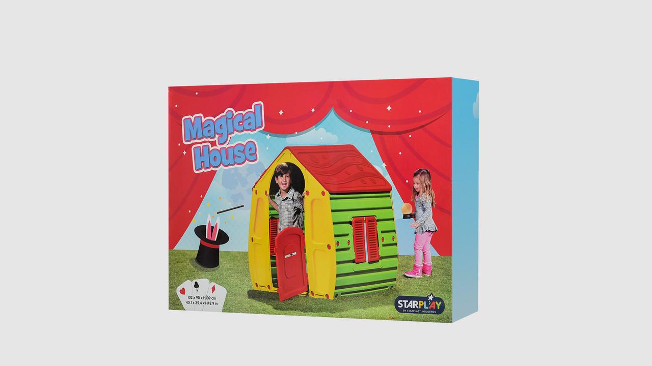 Домик детский Magical House. 10-561. Пластиковый.