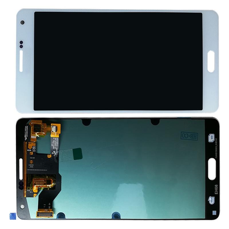 Дисплей Samsung A700F, A700 Galaxy A7 модуль в сборе с тачскрином, белый