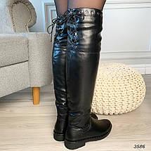 Красивые сапоги ботфорты, фото 3