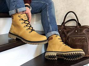 Мужские ботинки натуральная кожа внутри эко мех, фото 3